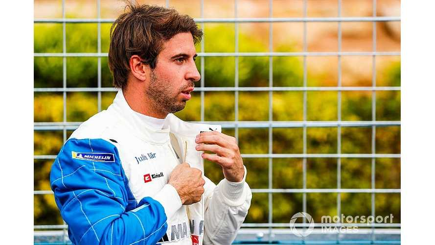 Da Costa Takes Blame For BMW On BMW Crash In Formula E