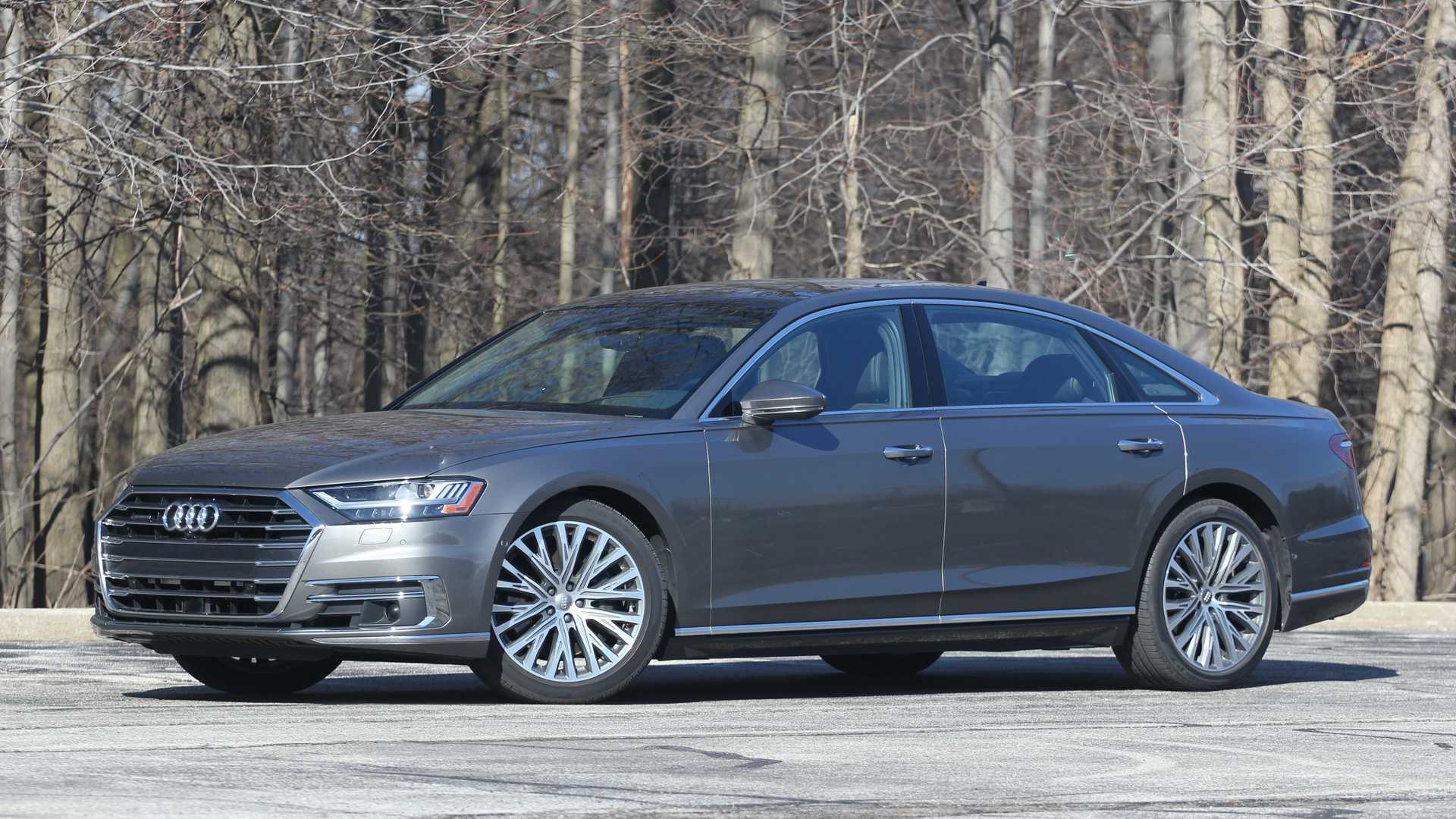 2019 Audi A8 Review Try Harder