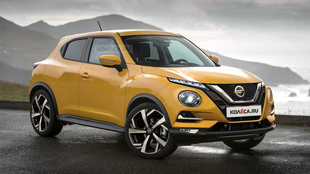 2020 Nissan Juke render
