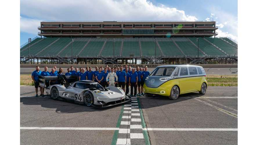 VW Green Lights I.D. R For Record Attempt At Nürburgring This Year