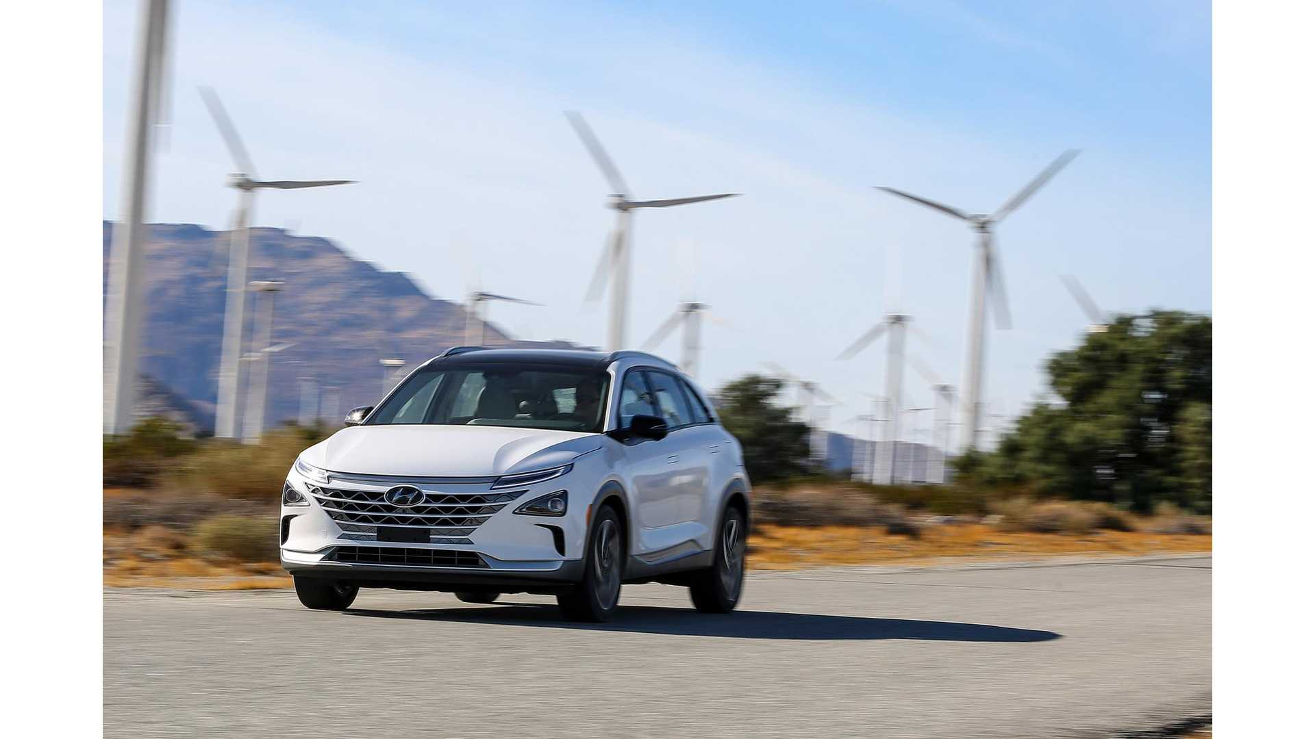 Fully Charged Tries Out Hyundai NEXO Hydrogen Fuel Cell Car