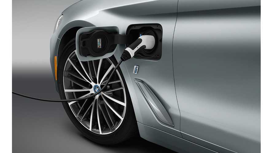 U.S. BMW Plug-In Electric Car Sales Up In August
