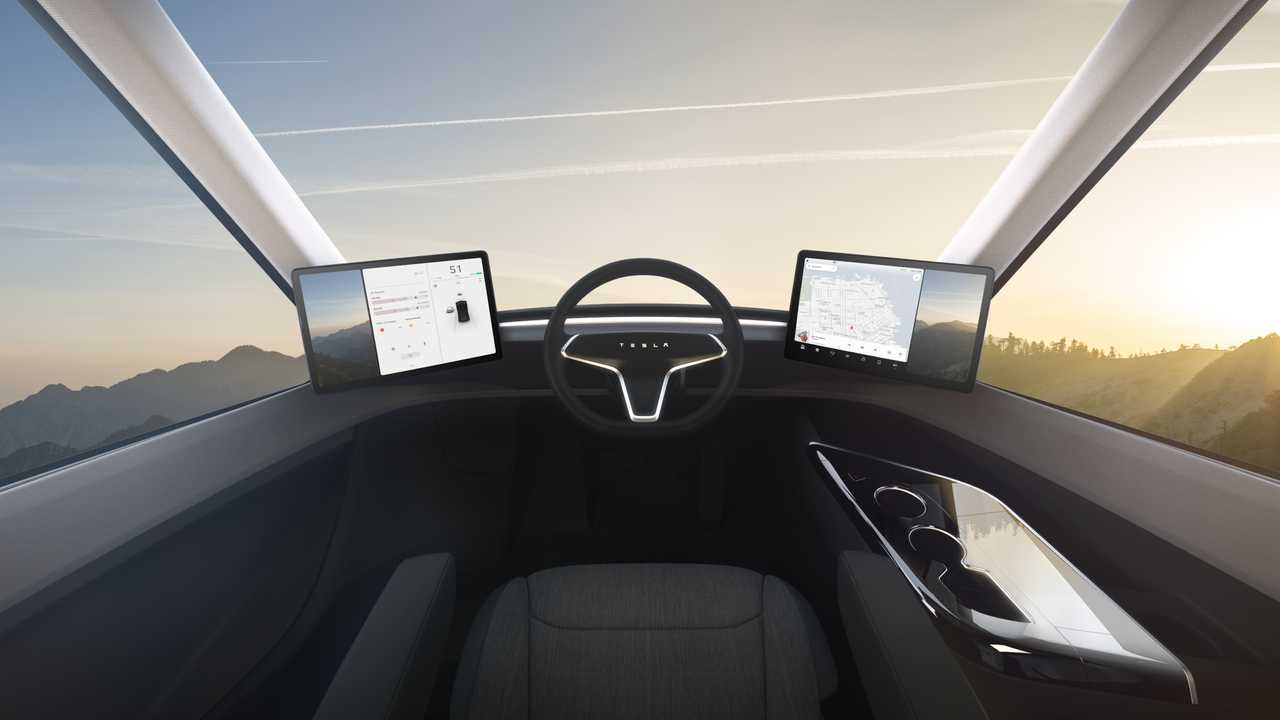 Tesla Semi interior 3