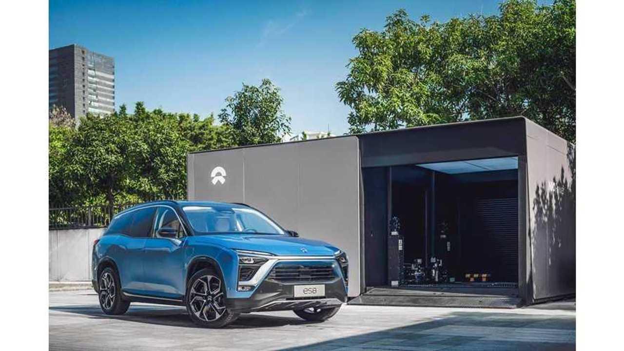 NIO Sold 1,573 ES8 Electric SUVs In October: Targets 7,000 In Q4 2018