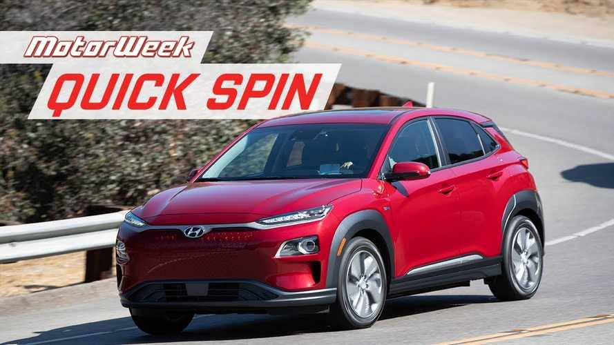 MotorWeek Takes Hyundai Kona Electric Out For A Spin