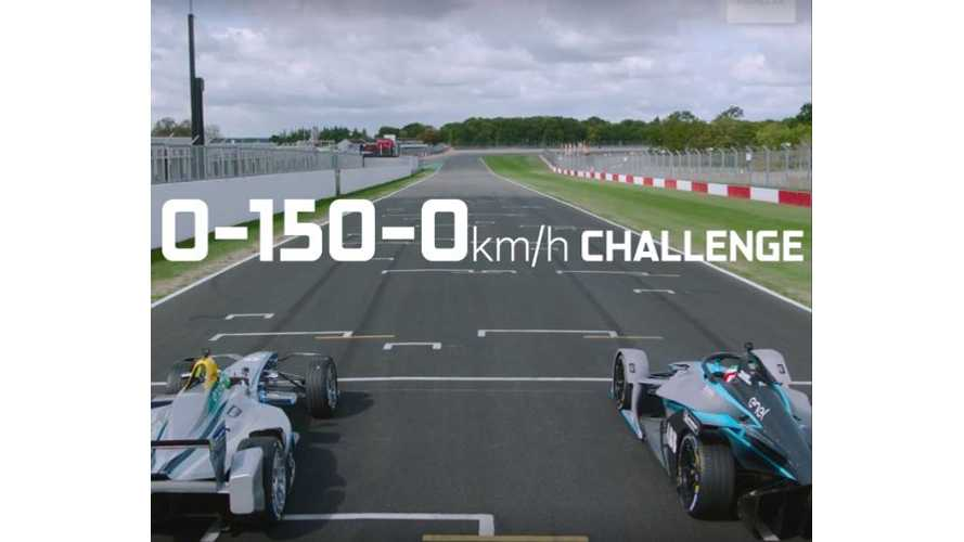 Watch Formula E Gen 1 Vs Gen 2 Battle: Plus CNET Drives Audi FE Car