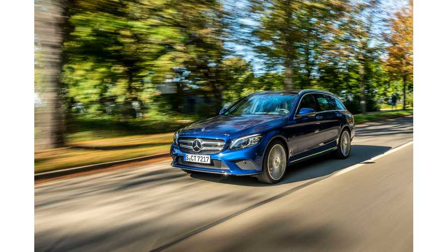 Mercedes-Benz Presents C 300 de Diesel Plug-In Hybrid