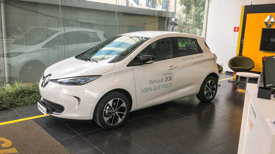 Compact Renault ZOE Is Immediately A Big Hit In Brazil