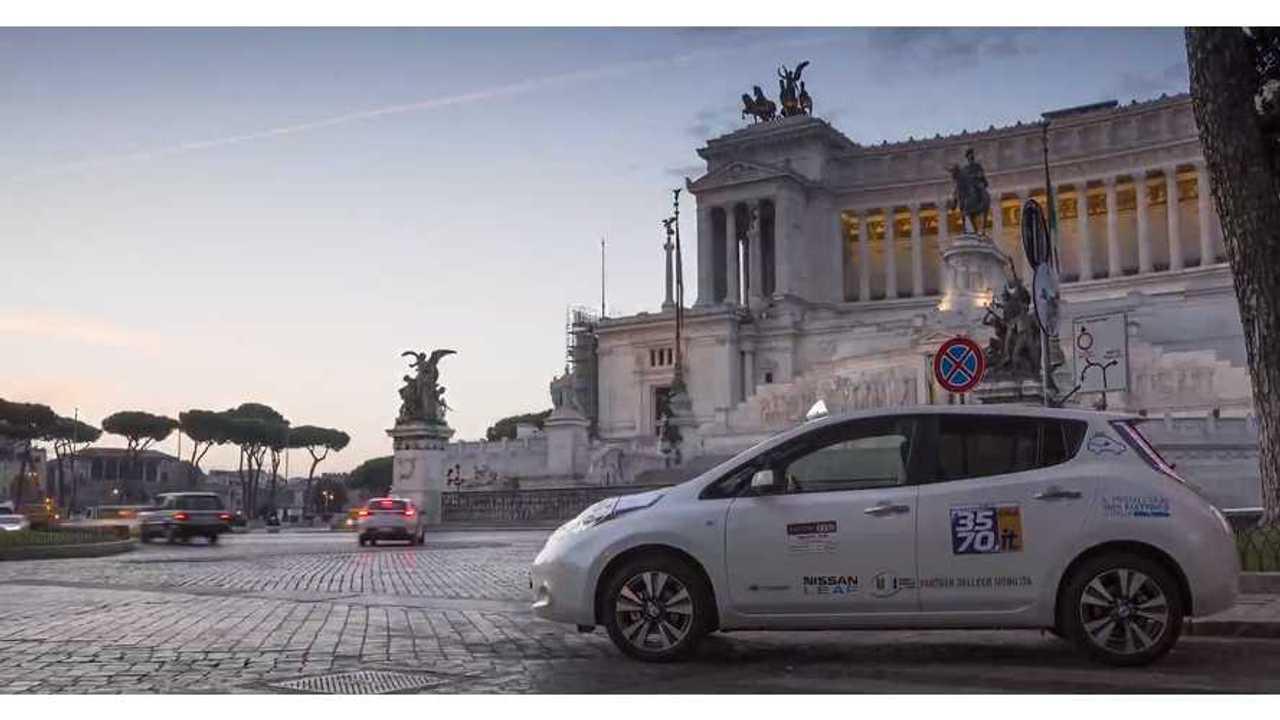 Nissan LEAF - Rome 1