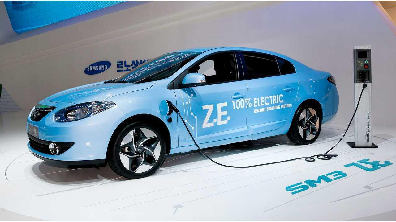 Samsung Motors SM3 Z.E.
