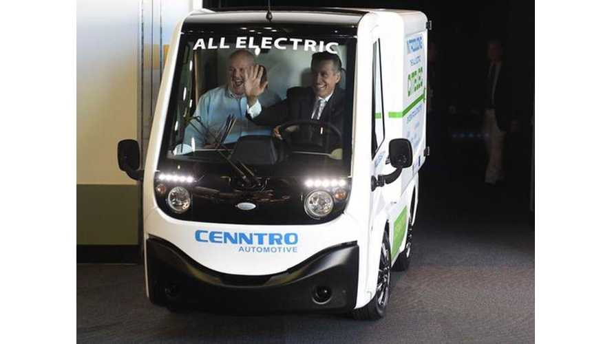 Cenntro Automotive Launches Production of Citelec in Nevada