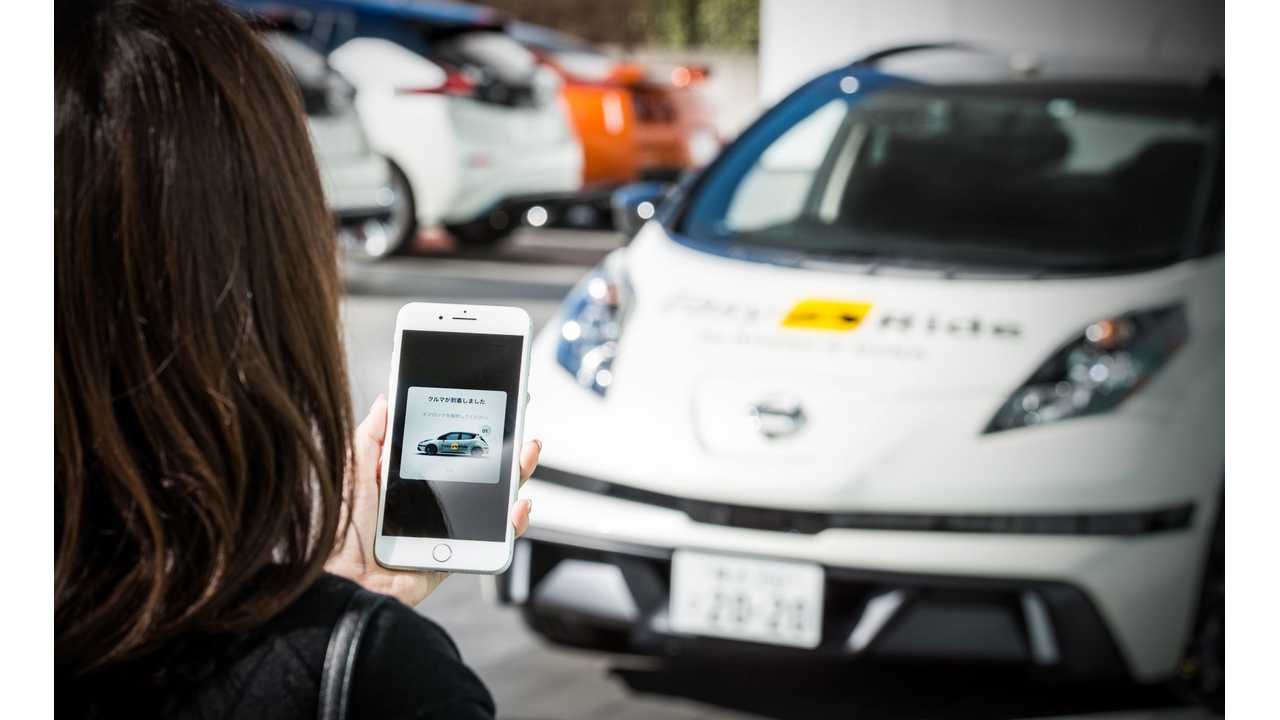 Nissan and DeNA to start Easy Ride robo-vehicle mobility service trial