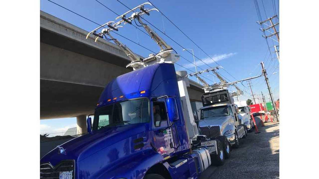 Siemens eHighway in California