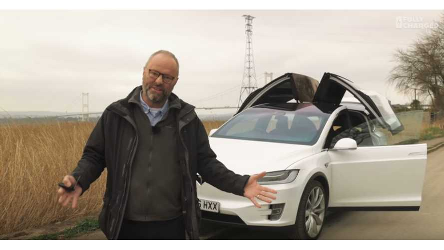 Tesla Model X Finally Tested By Fully Charged In Extensive Review - Video