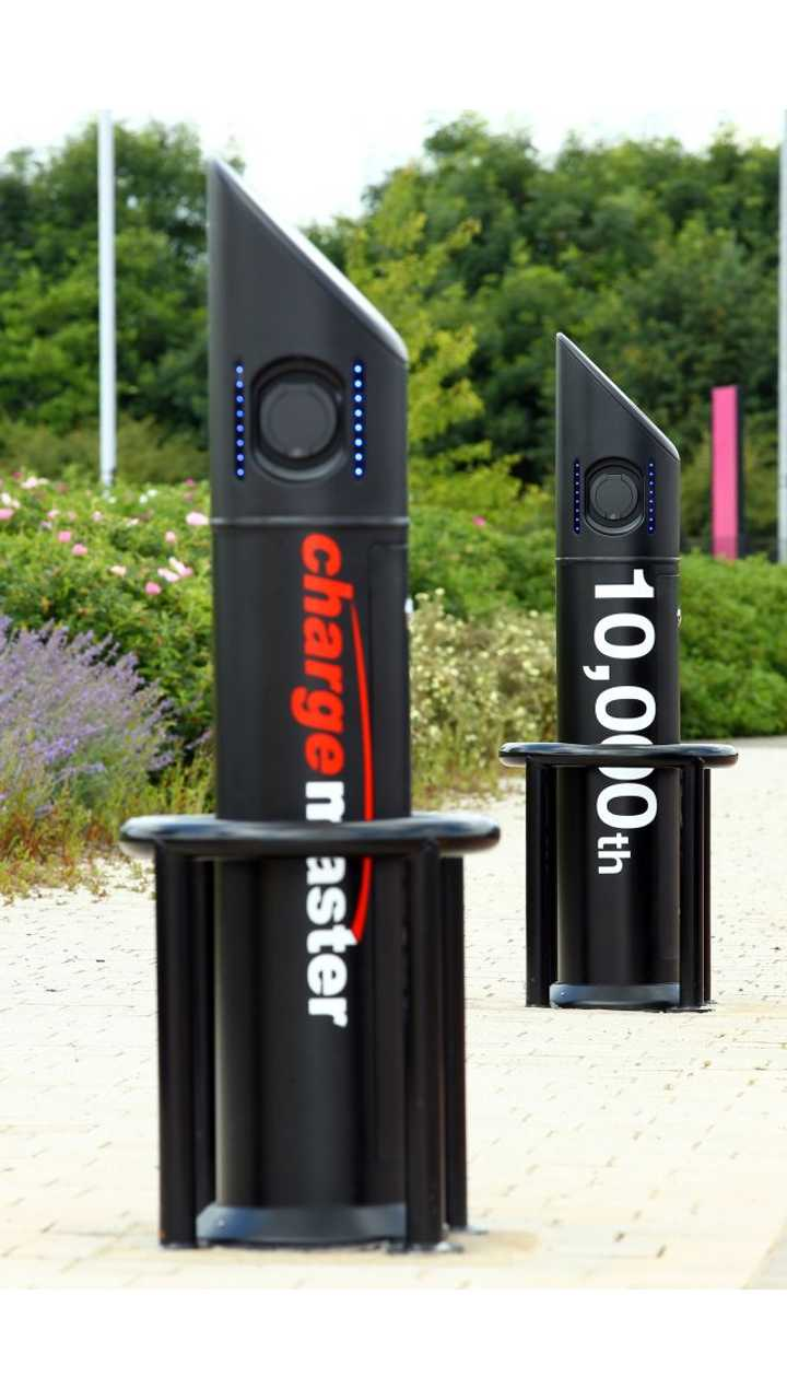 Chargemaster installs its 10,000th public and commercial EV charging point