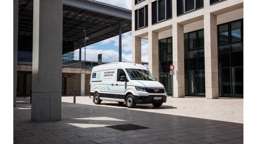 Electric MAN eTGE 4.140 Van Debuts At IAA