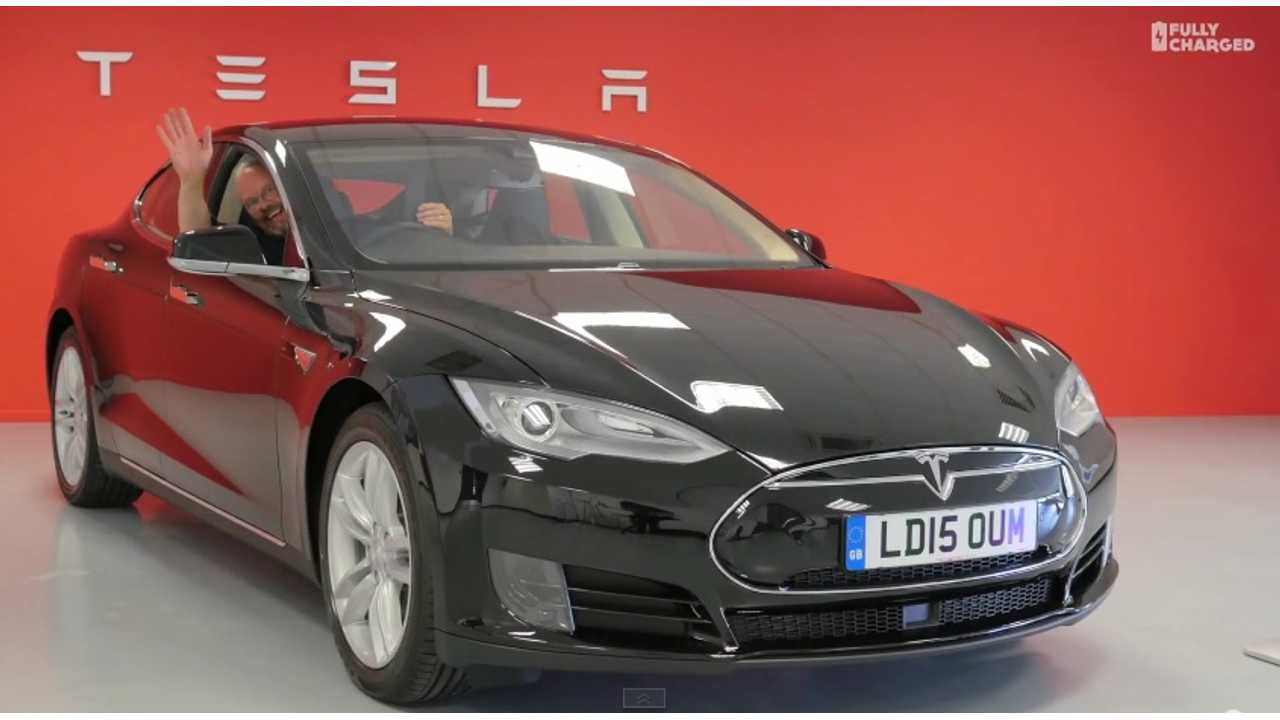 Robert Llewellyn bought Tesla Model S
