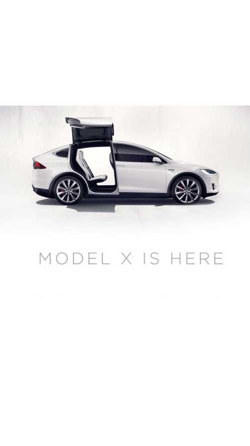 Tesla:  Model X Reservation Holders To Configure Before End Of 2015, Next Wave Soon