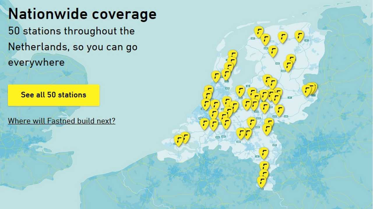 Fastned Opens 50th Fast Charging Station In The Netherlands