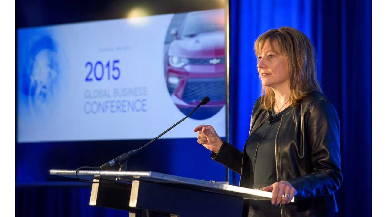 GM CEO Mary Barra Talks Future Of GM At Annual Global Conference