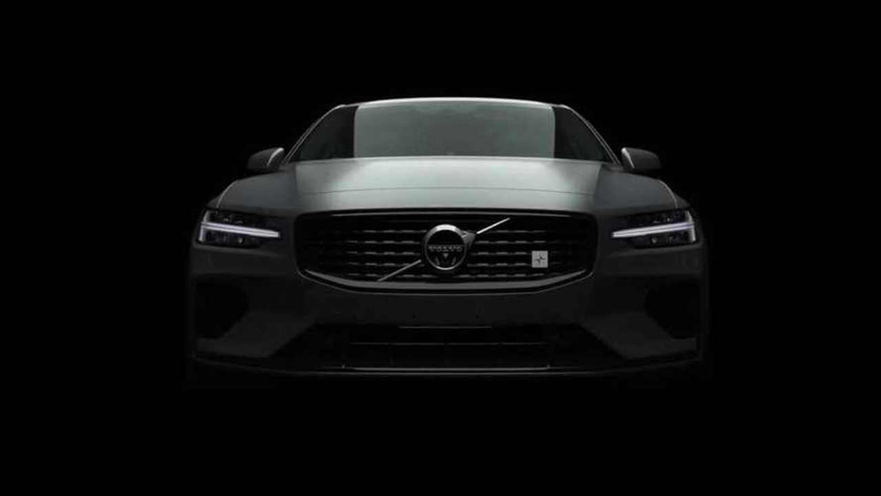 New 2019 Volvo S60 Polestar Teaser Fails To Show The Car