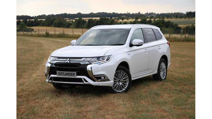2019 Mitsubishi Outlander PHEV Priced From £34,255 (OTR) In UK