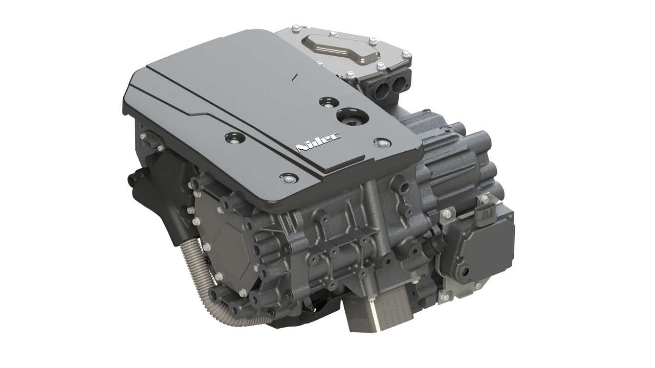 Check Out Nidec's Fully Integrated Traction Motor That Weighs 83 Kg