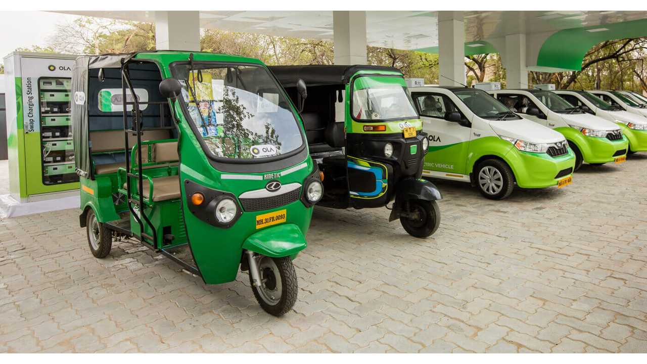 India To Get 1 Million Electric Three-Wheelers For Ride-Hailing