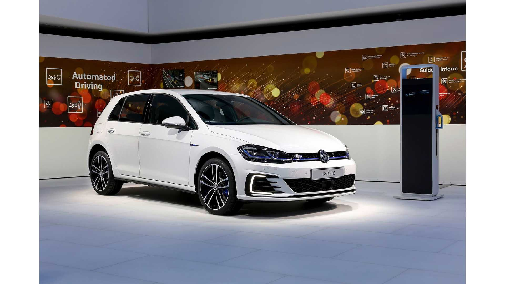 Updated 2017 Volkswagen Golf Revealed Electric E Plug In Hybrid Gte Coming Soon