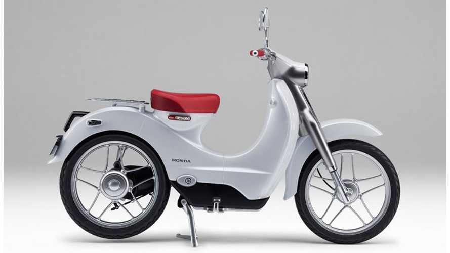 Honda To Sell Electric Scooter In 2018