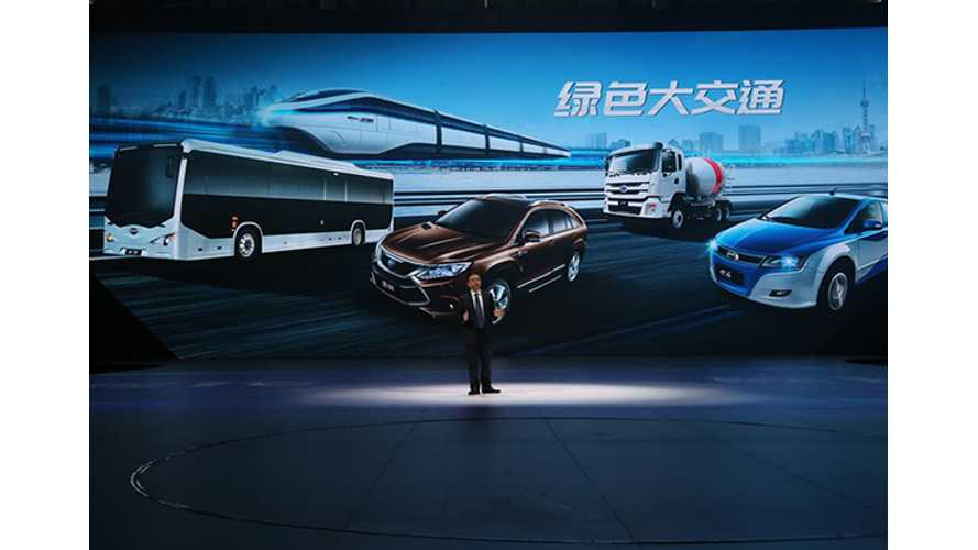BYD Expects To Be Hit By China's EV Subsidy Cut In First Half, But Future Still Bright