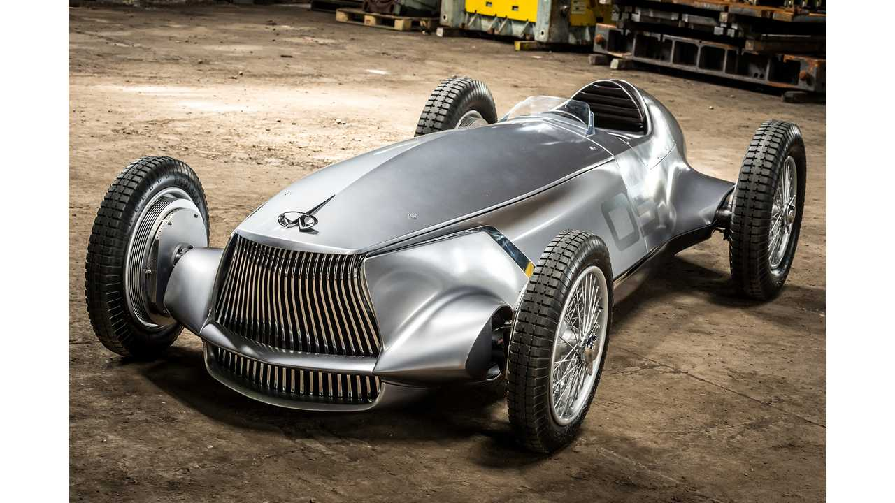 Infiniti Prototype 9 EV Is Past Meets Present, Plus Some Next-Gen LEAF