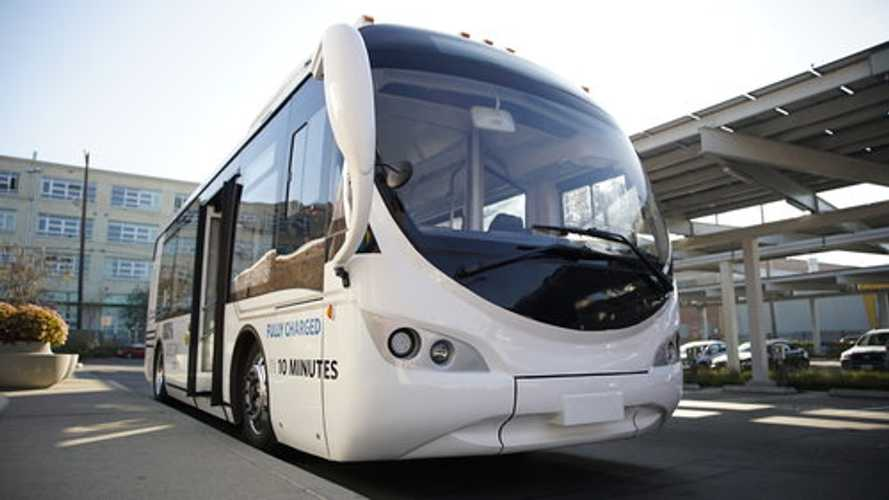 AVM Presents Electric Shuttle That Charges Fully In 10 Minutes