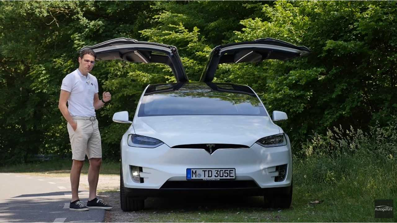 Autogefühl Tests Tesla Model X 100D