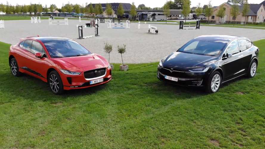Tesla Model X Compared To Jaguar I-Pace In Slick New Video