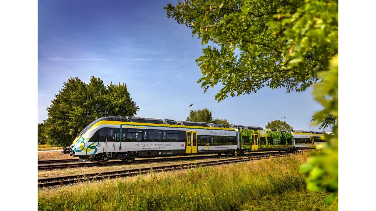 Bombardier Introduces Talent 3 Battery-Operated Train