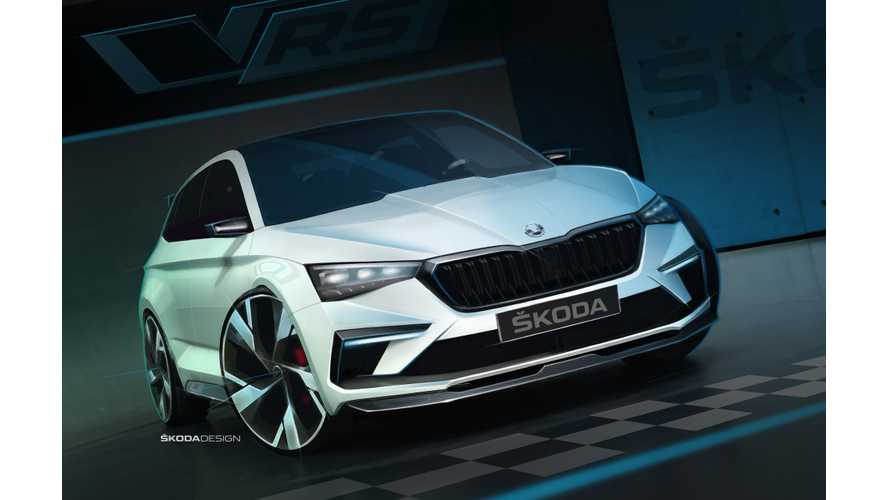 Skoda Shows Off Vision RS Plug-In Hybrid
