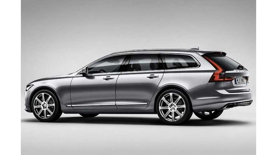 Volvo V90 Images Leak Out Ahead Of Full Reveal
