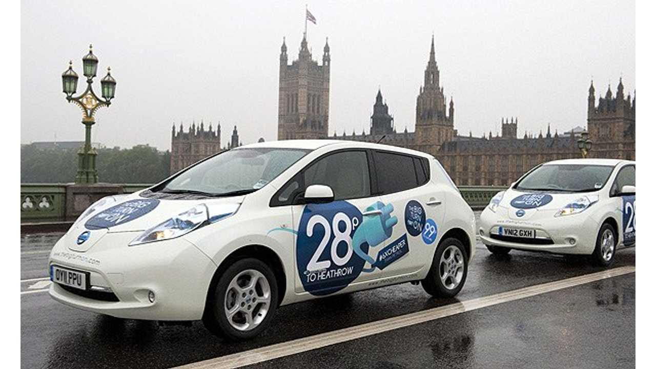 UK Government Goes Electric With Purchase Of 140 Plug-In Cars