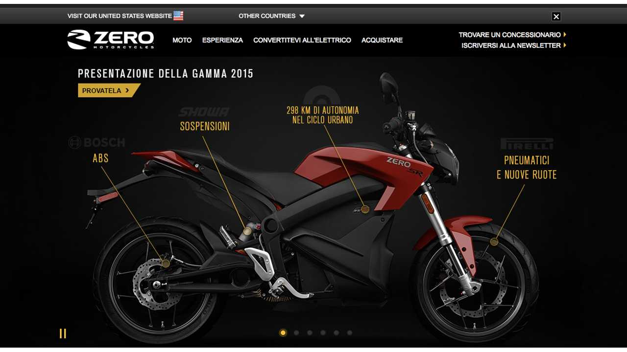 Zero Announces Breaking Into Italian Market