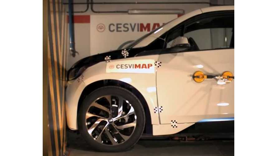 BMW i3 REx CESVIMAP Crash Test - Videos