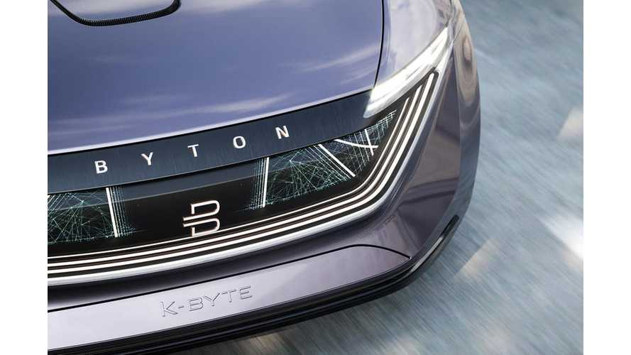 BYTON To Reveal Details On First Production EV At CES 2019