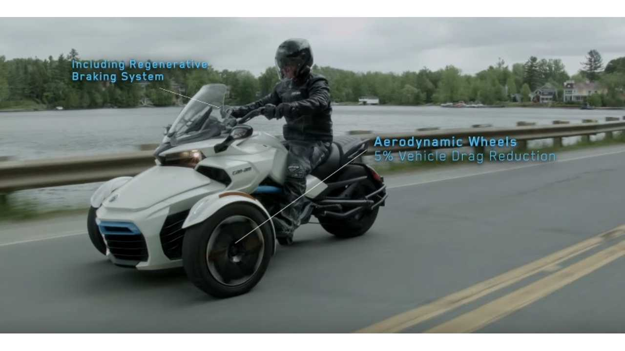 Can-Am Spyder Electric Concept Vehicle