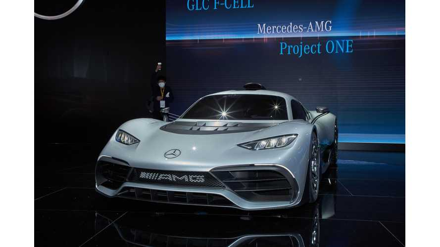 Mercedes Suggests Project One PHEV Will Post & Publish Nurburgring Record