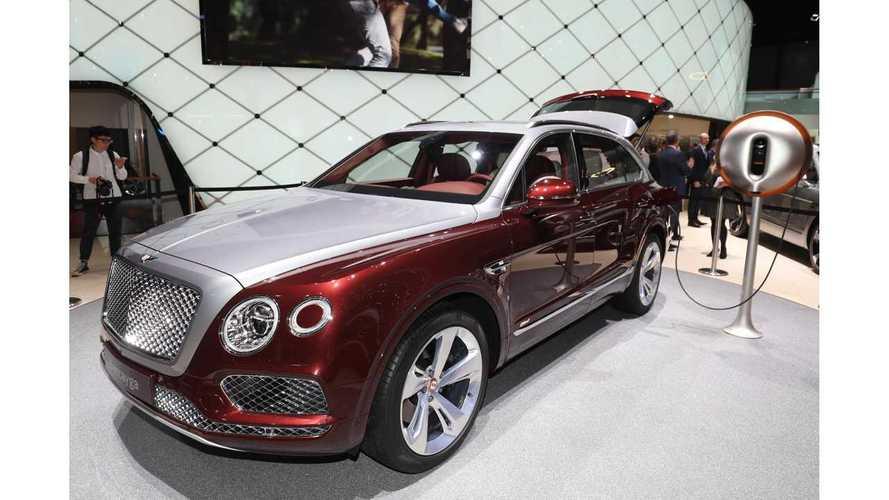 Bentley Bentayga Plug-In Hybrid Debuts In Geneva - Live Images