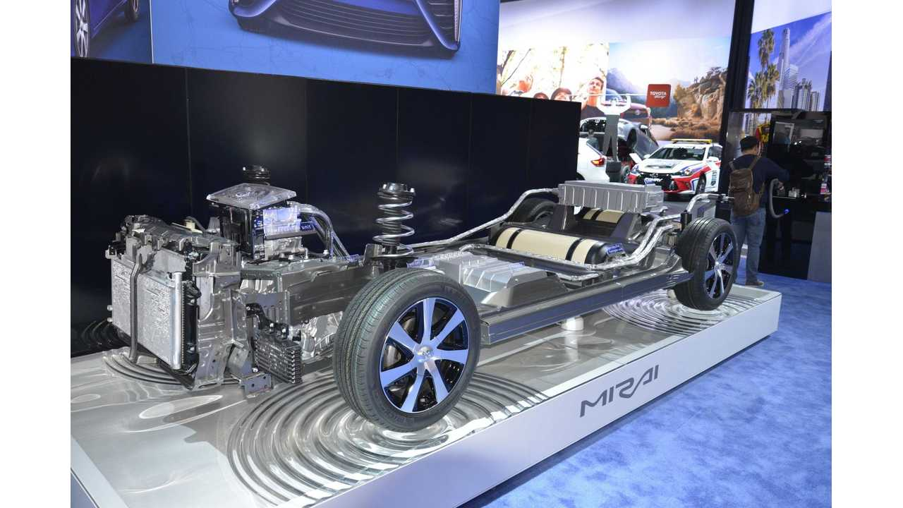 Toyota Mirai Explained By Engineering Explained - Video