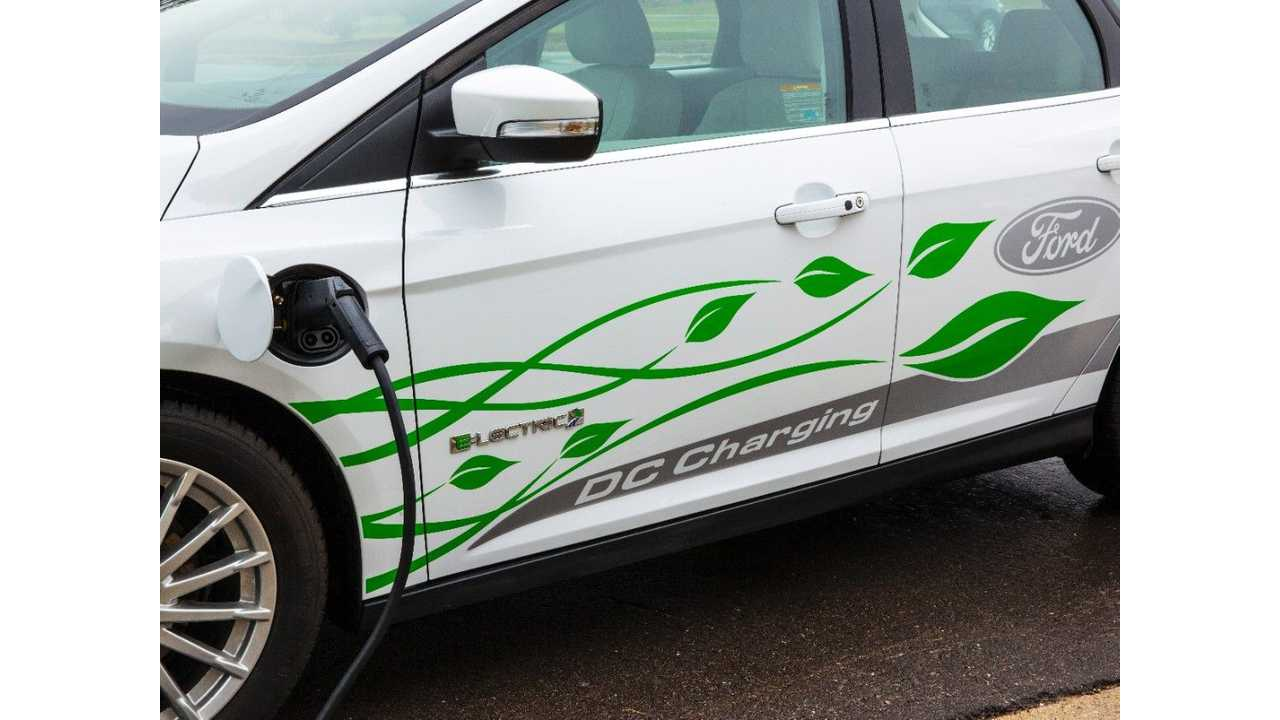 Ford Focus Electric With DC Fast Charging?