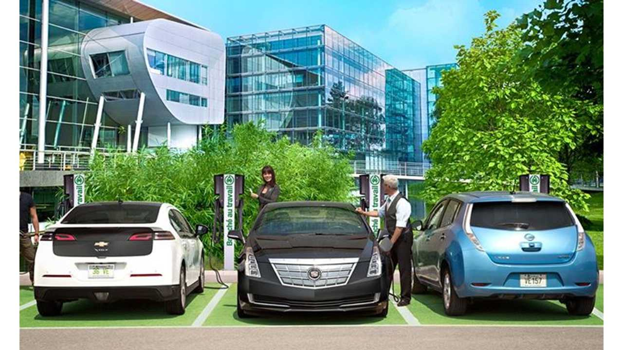 Canada's Two Largest Charging Station Networks Team Up