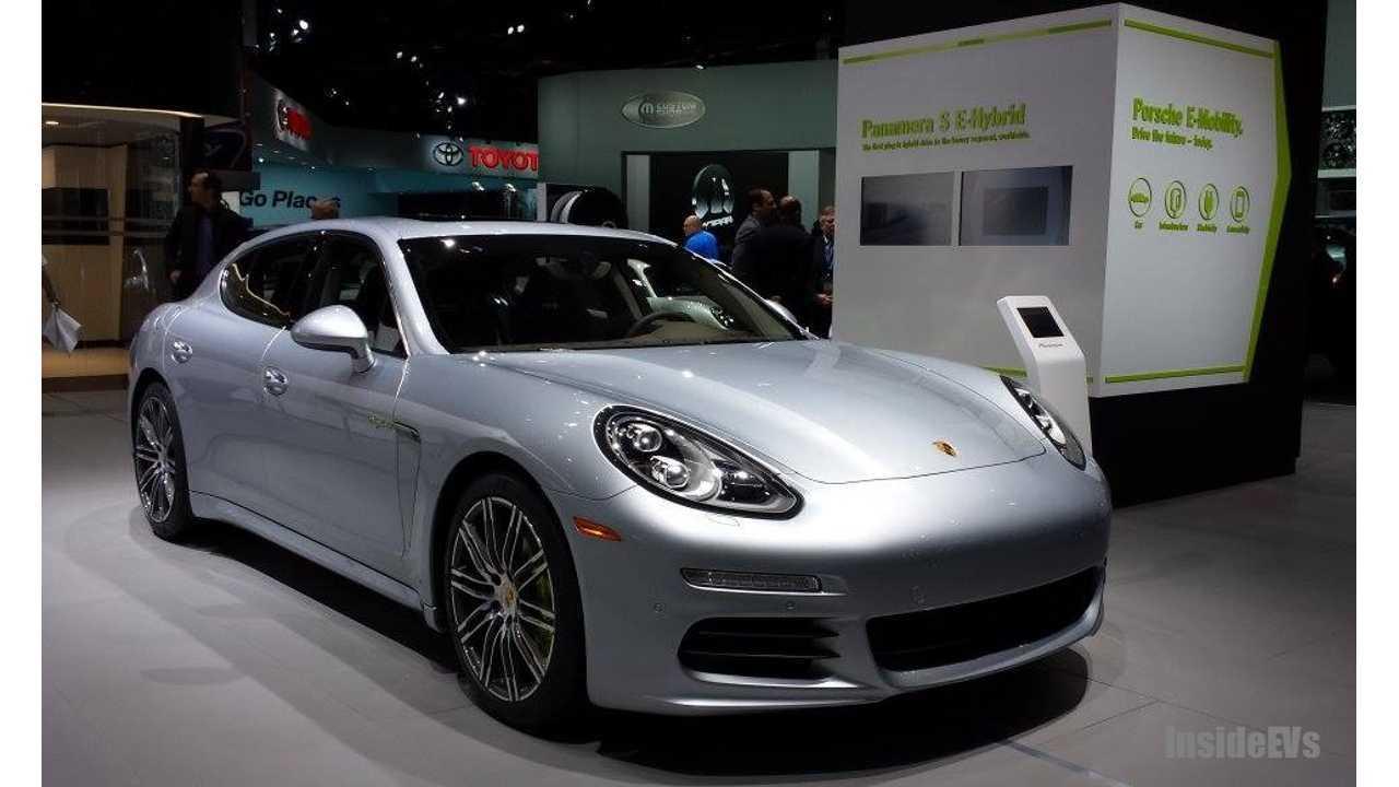 Report Porsche 717 Coming 300 Miles Awd 4 Door All Electric Car