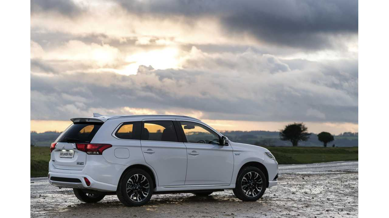 The long teased (for Americans) plug-in Outlander PHEV